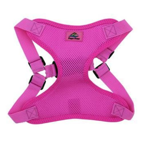 Wrap and Snap Choke Free Dog Harness Raspberry Pink - Soft Dog Harnesses - 2