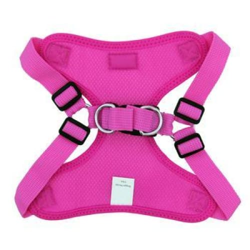 Wrap and Snap Choke Free Dog Harness Raspberry Pink - Soft Dog Harnesses - 3