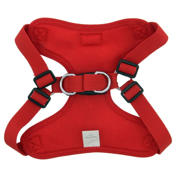 Wrap and Snap Choke Free Dog Harness Tahiti Red - Soft Dog Harnesses - 3