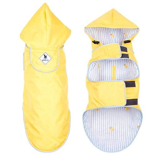Yellow Rubber Duck Seattle Slicker Jacket for Dogs - Dog Jackets & Coats - 3
