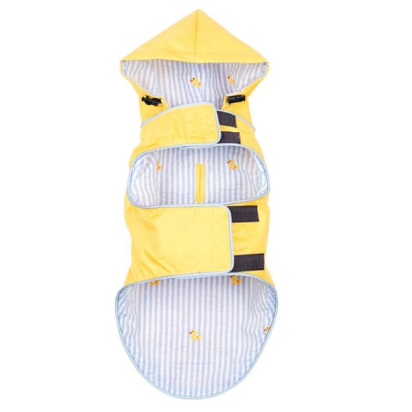 Yellow Rubber Duck Seattle Slicker Jacket for Dogs - Dog Jackets & Coats - 2