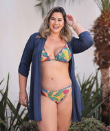 Top Cortininha de Babados Mel Plus Size Filipinas