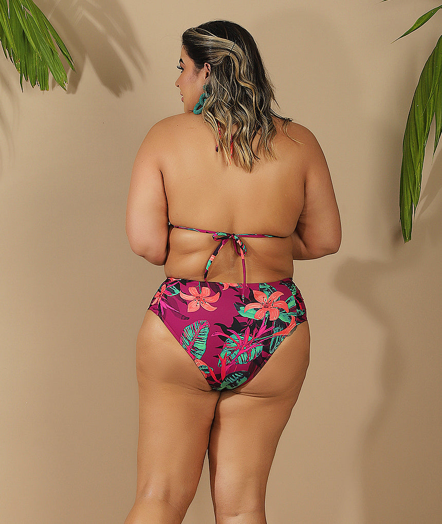 Top Cortininha Evelyn Plus Size Lírio