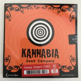 KANNABIA SWISS DREAM CBD AUTOFLOWER SAMEN 10 STK.