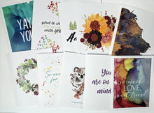 Load image into Gallery viewer, penpal kit | snail mail kit | letter writing set of 10 cards