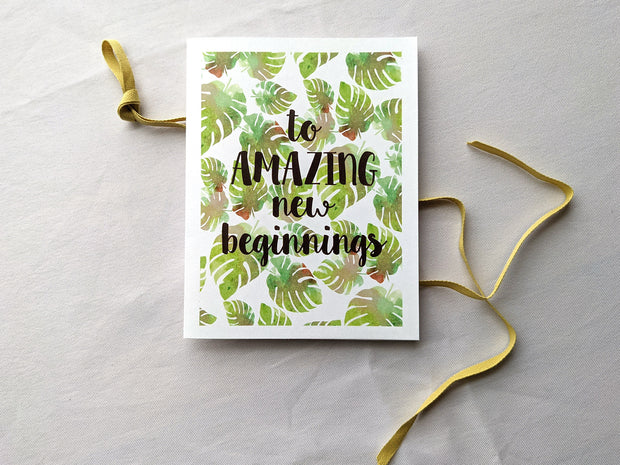 to amazing new beginnings 1