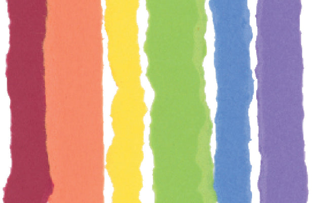 rainbow thinking of you greeting card 1