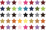 rainbow stars greeting card