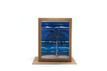 Load image into Gallery viewer, palm tree greeting card