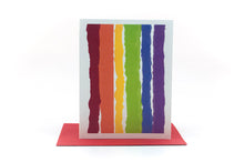 Load image into Gallery viewer, rainbow thinking of you greeting card