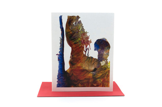 abstract painting greeting card 1