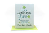 it's a wonderful life holiday card