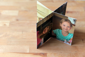 personalized photo centerpiece