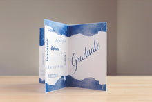 Load image into Gallery viewer, blue school colors. graduation party. table centerpiece