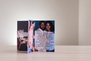 your text/colors photo centerpiece