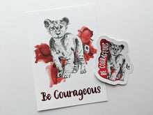 Load image into Gallery viewer, gift set | be courageous lion