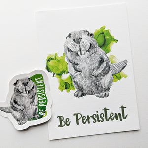 gift set | be persistent beaver