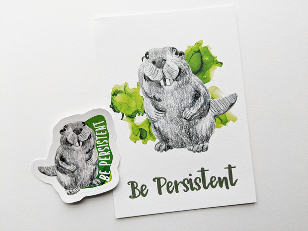gift set | be persistent beaver 1