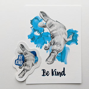 gift set | be kind platypus