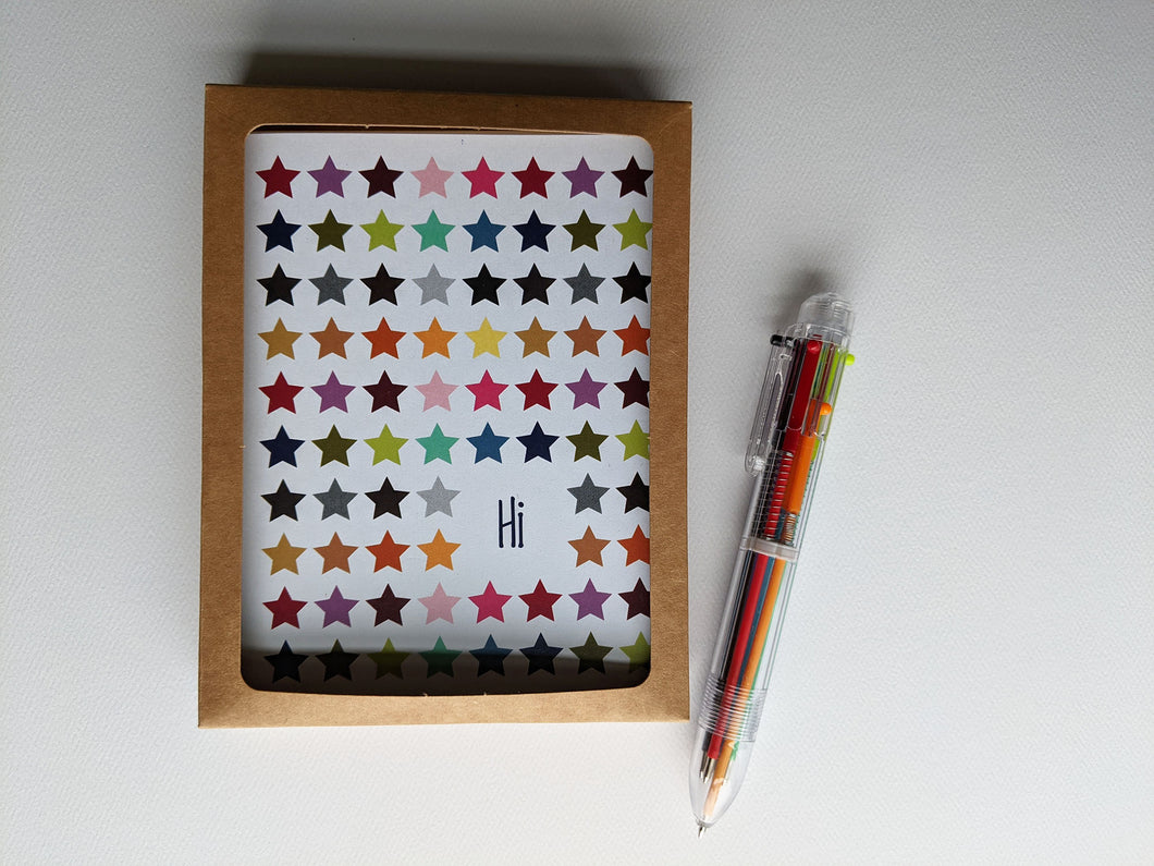 penpal kit | letter writing set of 6 cards