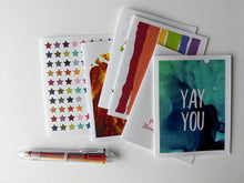 Load image into Gallery viewer, penpal kit | letter writing set of 6 cards
