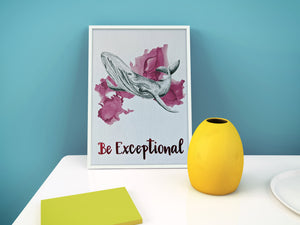 gift set | be exceptional whale
