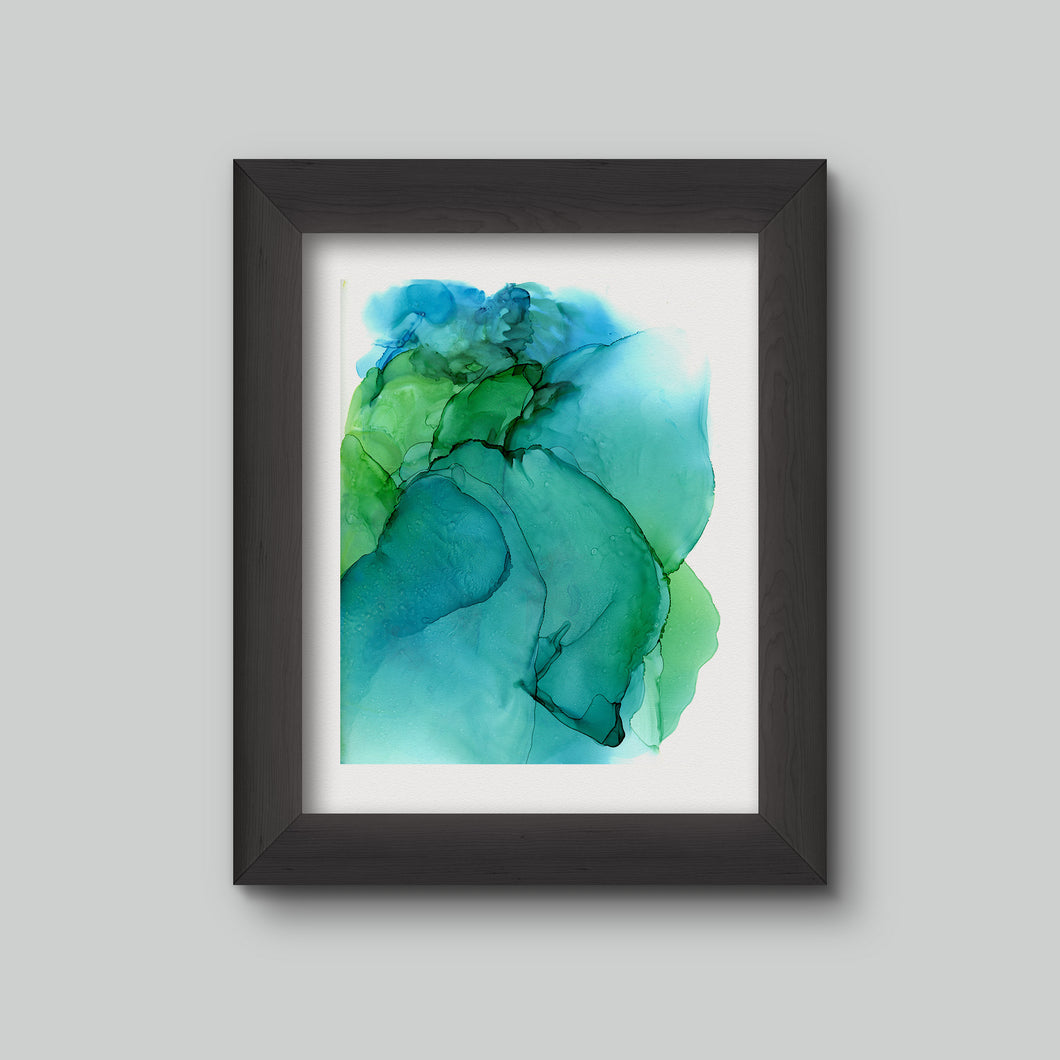 discovery I  | abstract art print
