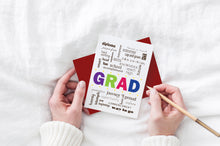 Load image into Gallery viewer, grad congratulations greeting card