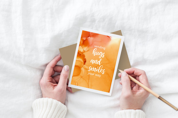 sending hugs and smiles your way 1