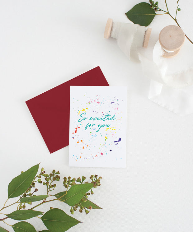 so excited for you card 1