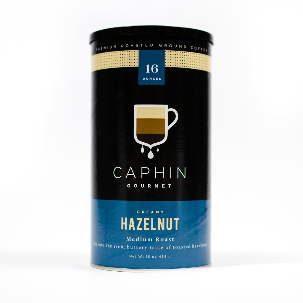 Caphin - Hazelnut (Ground Coffee)