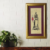"Islamic Picture Bismillah, Contemporary Arabic Calligraphy Art, ORIGINAL Islamic Painting 9""x15"", Modern Islamic Wall Decor - islamicartstore.com"