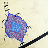 "Quran Ayat ""You who have believed, be firm standing in witnesses for Allah"" Surat An Nisa Calligraphy Painting, Islamic Calligraphy Wall Art - islamicartstore.com"