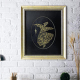 "Quote Wall Art ""Wherever you turn, there is the Face of Allah"" Persian Decor, Whirling Dervish Painting, Islamic Ornament Decoration - islamicartstore.com"