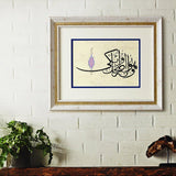 "Quran Wall Decor ""That it's He Who grants laughter and tears"" Surah An-Najm Quran Verse Wall Art, Islamic Calligraphy Quran Ayat Painting - islamicartstore.com"