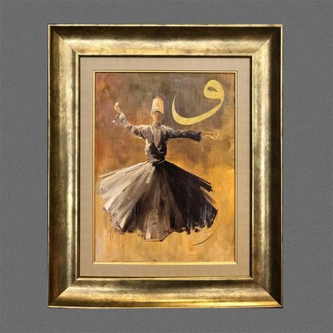 Islamic Canvas Art Original Islamic Oil Painting Living