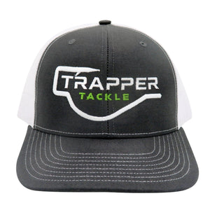 Richardson Classic Trucker Hat Hat Trapper Tackle LLC Charcoal / White Mesh