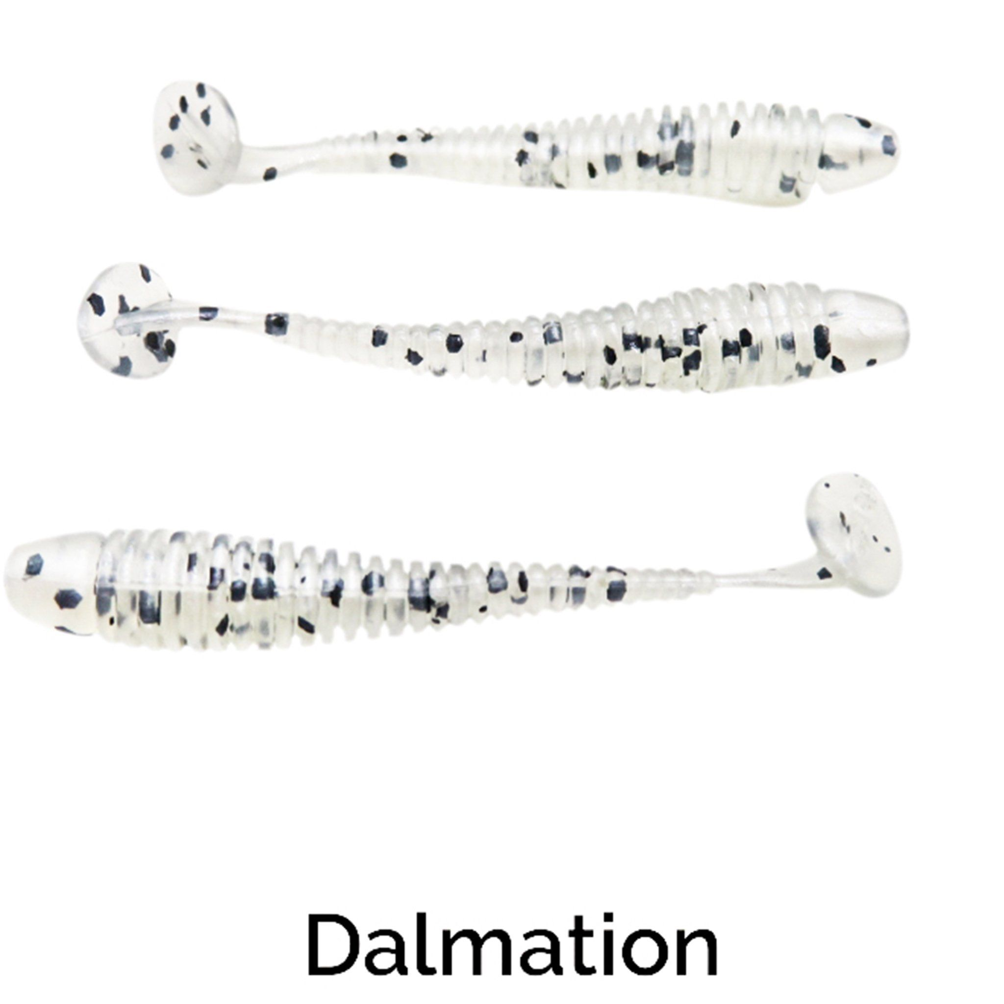 "Zee Bait Micro XSwimmer 1.75"" Related Trapper Tackle LLC Dalmation"