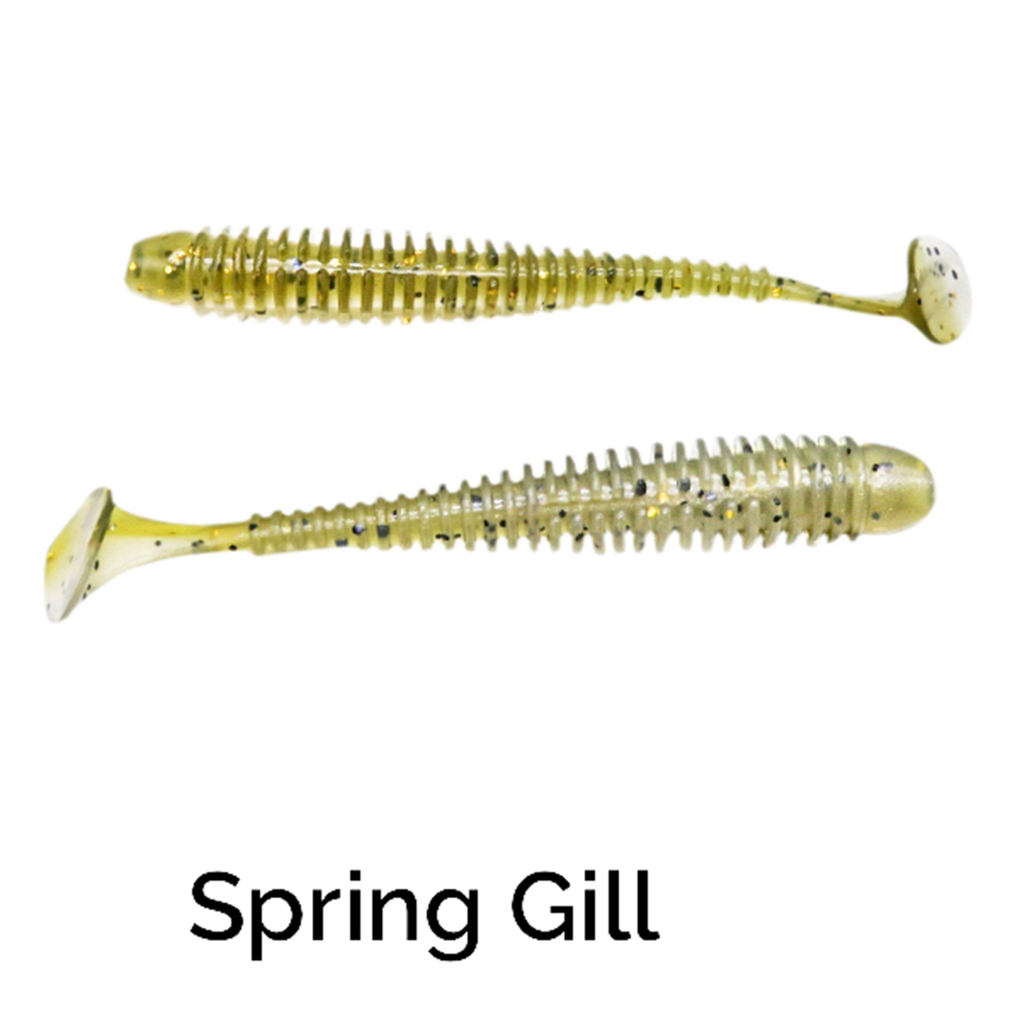 "Zee Bait Micro XSwimmer 3"" Related Trapper Tackle LLC Spring Gill"