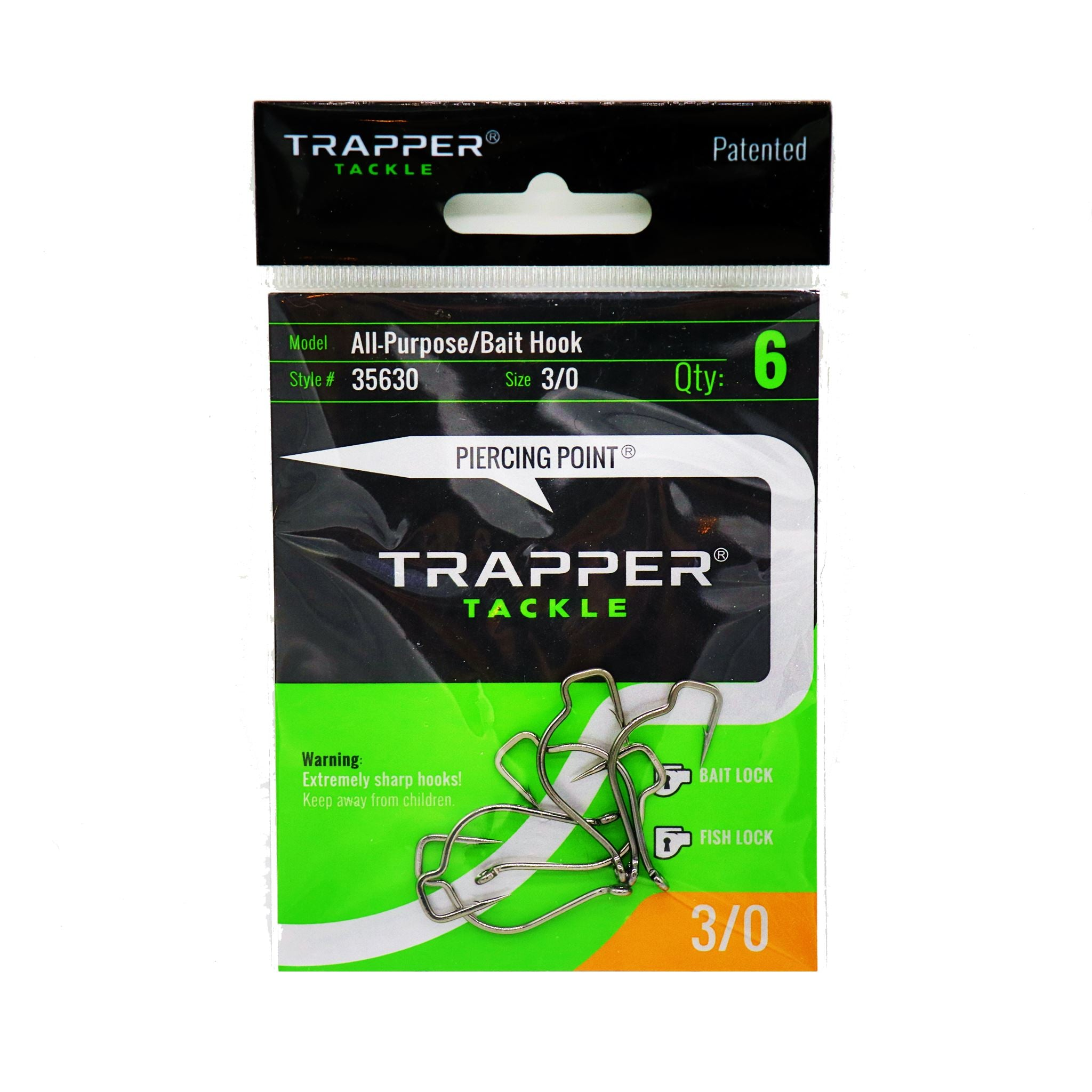 All-Purpose/Bait Hook Single Hooks Trapper Tackle LLC