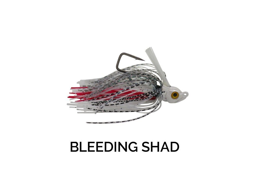 Trapper Tackle Freestyle Swim Jig Trapper Tackle LLC 3/8 oz Bleeding Shad