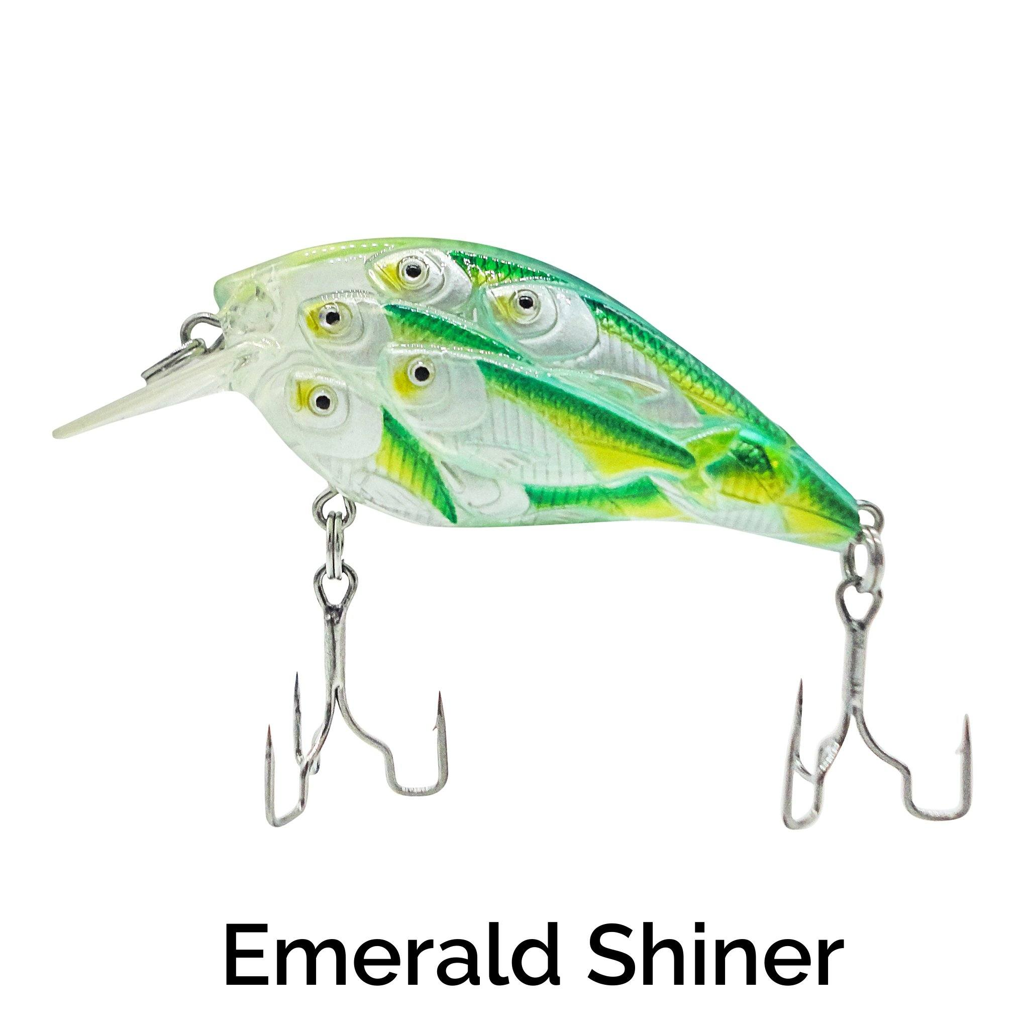Trapper Schooling Squarebill Related Trapper Tackle LLC Emerald Shiner