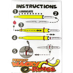 Frenzy Baits Perfect Wacky O-Rings and Wacky Saddles Related Frenzy Baits Perfect O-Ring Kit