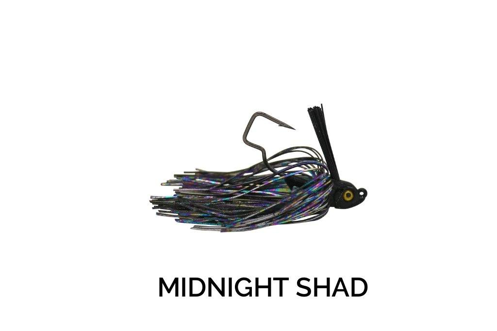 Trapper Tackle Freestyle Swim Jig Trapper Tackle LLC 3/8 oz Midnight Shad