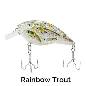 Trapper Schooling Squarebill Related Trapper Tackle LLC Rainbow Trout