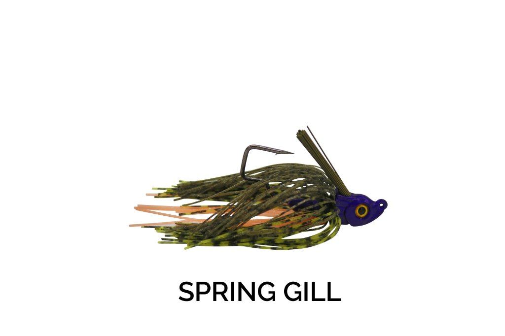 Trapper Tackle Freestyle Swim Jig Trapper Tackle LLC 3/8 oz Spring Gill