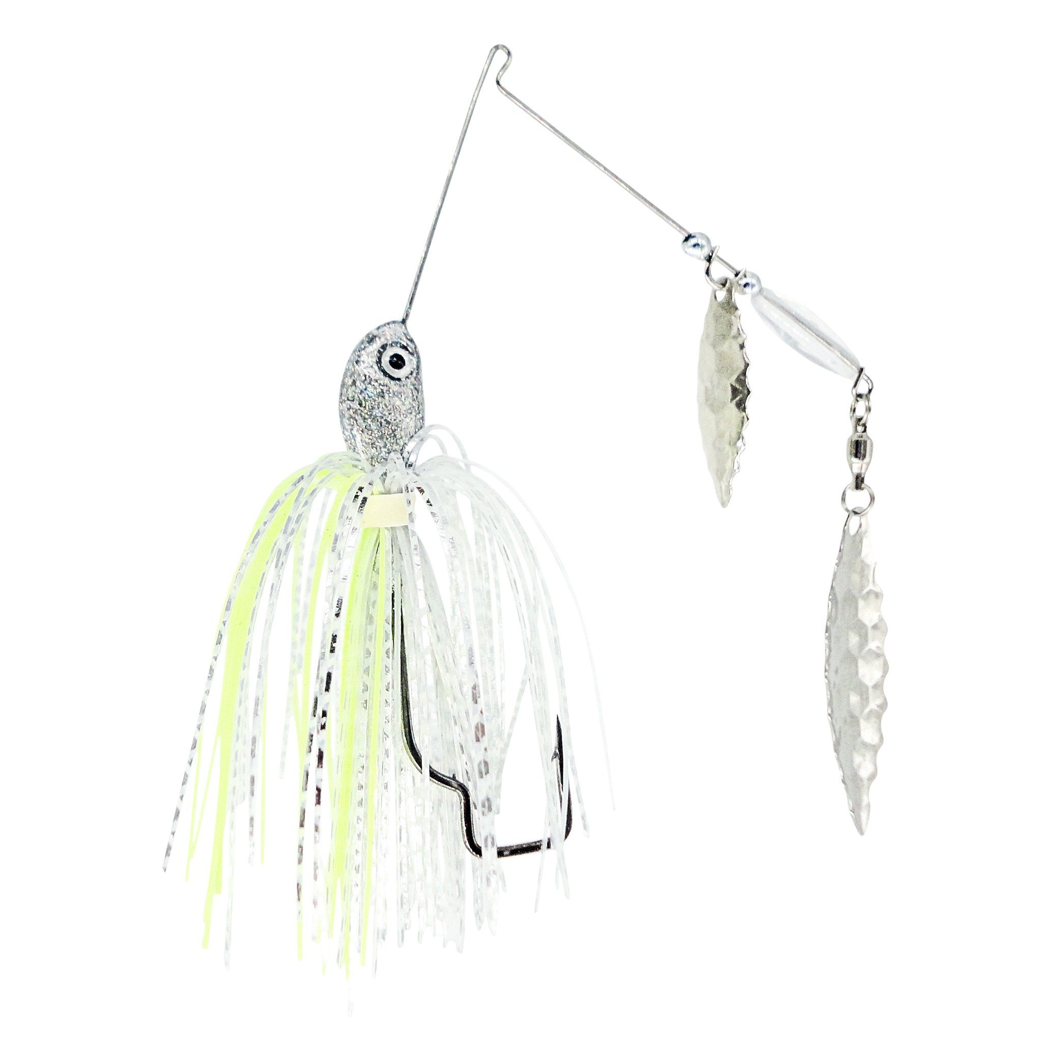 Rock-N-Reel Tournament-Series Spinner Bait Custom Trapper Tackle LLC 3/8oz silver