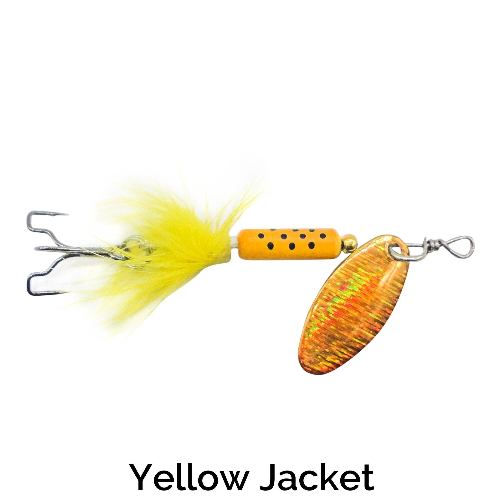 Trapper Tail Spinner Related Trapper Tackle LLC Yellow Jacket