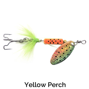 Trapper Tail Spinner Related Trapper Tackle LLC Yellow Perch