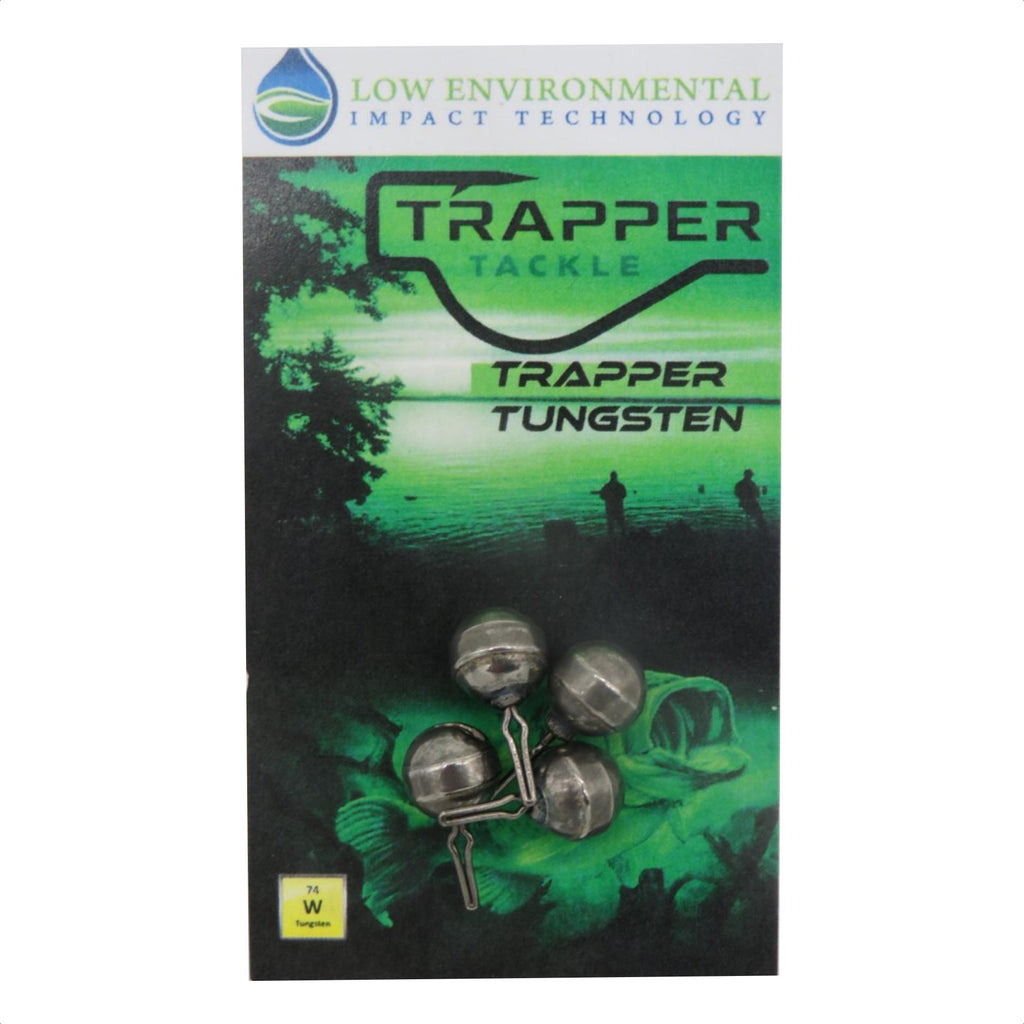 Tungsten Dropshot Weights Related Trapper Tackle LLC 1/8 oz